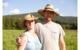 Zack and Annie Metzger of Laughing Earth Farm